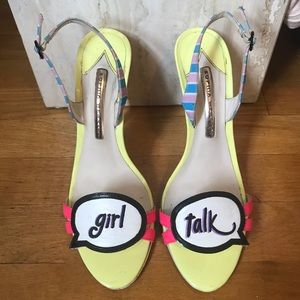 Sophia Webster 'Girl Talk' Heels 🌈